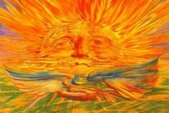 """Ernst Fuchs """"Aura"""""""