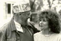 Ernst Fuchs u. Doris Stanke-Rump 1986 in Lage