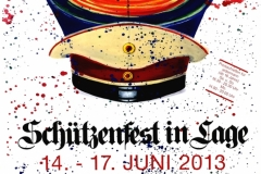 Schützenplakat 2013