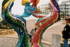 """Skulptur """"Die Liebenden"""""""