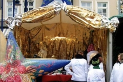 Bühnendeko Lagenser Weihnachtsmarkt
